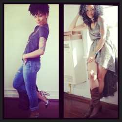 Our #PynkGirl fashionista of the day is @jasthestylist.  @jasthestylist is edgy and stylish! With two comfy looks that can inspire your casual date night look or even a day out with the ladies. Adding your personality into your ensemble is key. Be yourself! 👇 #PynkGirlApproved by @PeppermintGia (Fashion Editor)