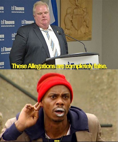 Rob Ford's Press Conference on Gawker's Crack Allegations.