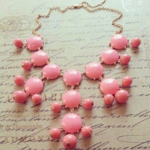 Pretty in Pink: The New Bubble Necklace in Pink! #adabelles #jewelry #necklace #pink  (at adabelles.com)