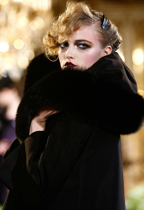 vlada rosylakova at john galliano f/w 2011