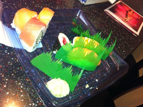 Sushi is the best healthy food ever ever ever