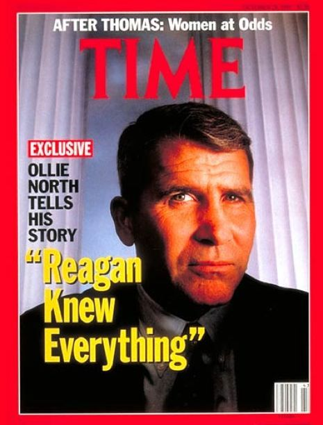 "zuky:  thesmithian:   …[some] may not remember what made Iran-Contra such an extraordinary scandal. The Reagan administration ""raised money privately"" by selling weapons to a sworn enemy of the United States. Why? Because it wanted to fund an illegal war in Nicaragua. And when I say ""illegal war,"" I mean that quite literally—Congress told the Reagan administration, in no uncertain terms, that Reagan could not send money to the Contras. Period. The Reagan administration, unrestrained by laws and the Constitution, did so anyway, and much of the president's national security team ended up under indictment.  more.  Reagan knew everything. However, I bet this Time magazine piece doesn't get into the juiciest part of Iran-Contra, which is that in the 1980s the CIA put into operation a crack cocaine pipeline to import narcotics from Central and South America and distribute it in US inner cities. This is not a ""conspiracy theory"", this is a documented conspiracy, most rigorously researched and reported by Pulitzer-prize winning journalist Gary Webb, whose series in the San Jose Mercury News and subsequent book ""Dark Alliance"" literally got him killed. To me, that's the story of Iran-Contra: not that Reagan sold weapons to Iran, but that the US government imported and sold crack to Black America, as part of an arms and drugs trade which funded war in the Third World and which devastated lives and filled prisons in the USA."
