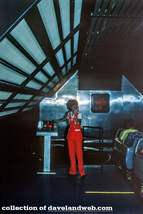 seacastlexstech:  Space Mountain cast member, summer 1982. Photo courtesy of Daveland
