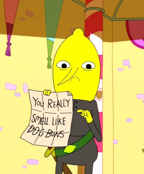 #somehow corseque became like a hot lemongrab in my head #i hope she's okay with that #you really smell like heart buns   ((but secretly))