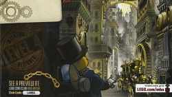 (via Holy @#$%, Lego is making a steampunk line)
