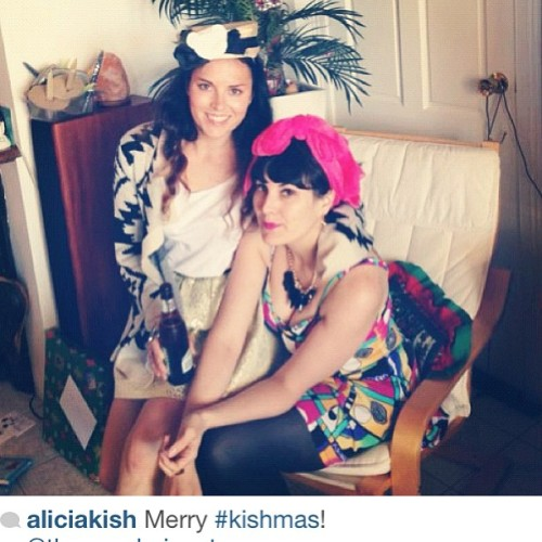 What she said! #kishmas  CC @aliciakish