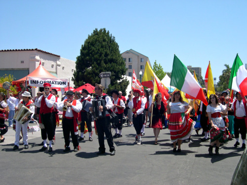 Sicilian Festival today in Little Italy