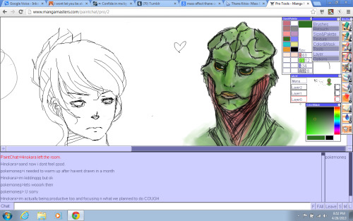 Drew a Thane Kiros in paintchat with Seth u v u Thanyboo