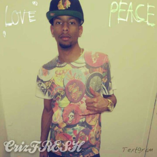 """All I Preach Is Love & Peace…"" -CrizFRESH #IAmNotARapper I'm A #Storyteller #LoveAndPeace"