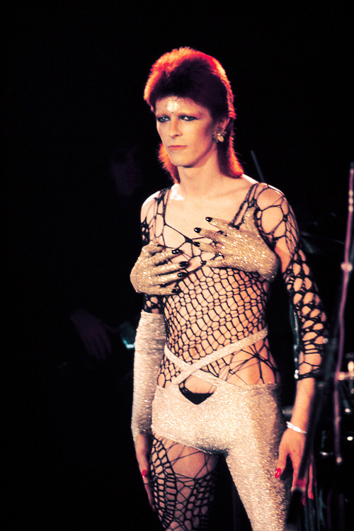 David Bowie photographed by Mick Rock, 1973