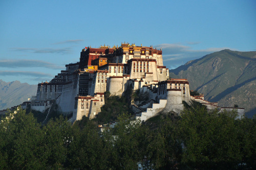 just-wanna-travel:  Potala Palace, Tibet