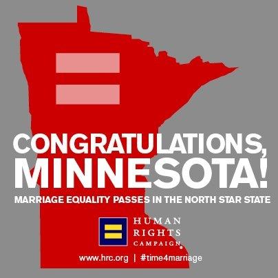 fauxreal:  It is a very good day to be Minnesotan.  Hooray! Love for everybody!
