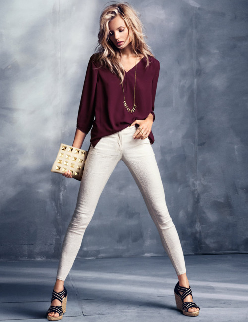 Magdalena Frackowiak for H&M
