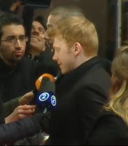 Rupert Grint | The Necessary Death of Charlie Countryman | Red Carpet | Berlinale 2013