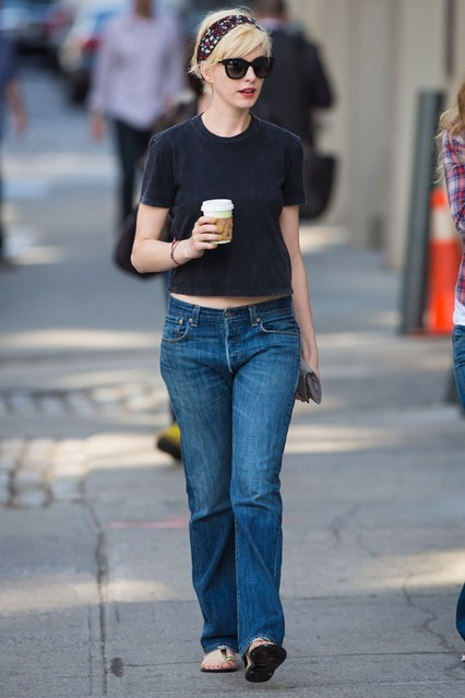 Anne Hathaway out in NYC, May 7th