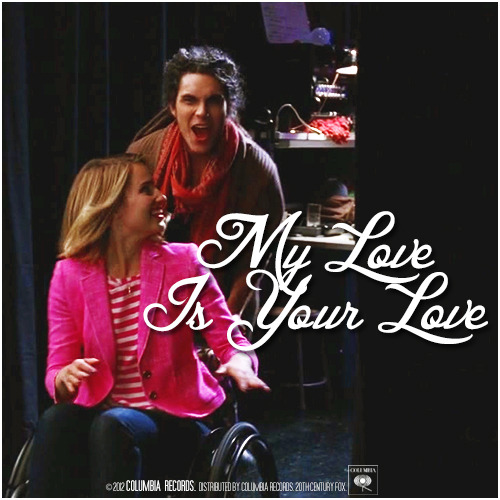 3x17 Dance With Somebody | My Love Is Your Love Requested Alternative Cover