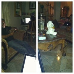 Family bonding while on the computers/iPad… #family #bonding