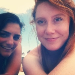 #clearwater with @halabarakat #sosunburnt #gingerprobs