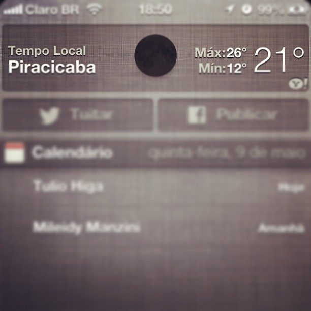Vai ter eclipse e não to sabendo? #apple #fail #weather #black #moon