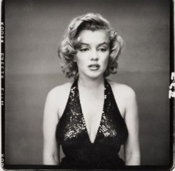 Marilyn Monroe, actress, New York by Richard Avedon, 1957