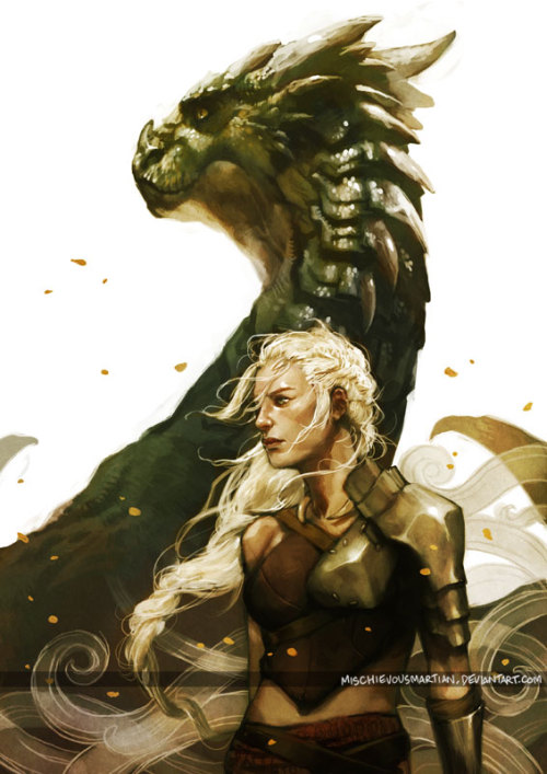 ashley-de-riveter:  Stormborn by *MischievousMartian WOW THOUGH mother of dragonsssssss