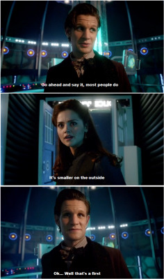maceisaweapon:  This, honestly, is the point when I began loving Clara as a companion.