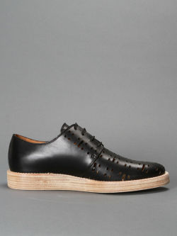 Marc Jacobs I have always loved perforated leather. These would make the best smart summer shoes. Antonioli (IT)
