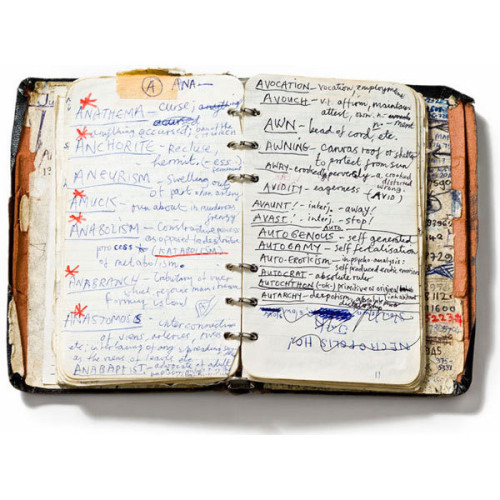 minteau:  A Peek Inside the Notebooks of Famous Authors, Artists and Visionaries… ❤ liked on Polyvore