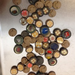 #heathceramics buttons from the 50's #dopeness thanks for sharing #smalltradecompany