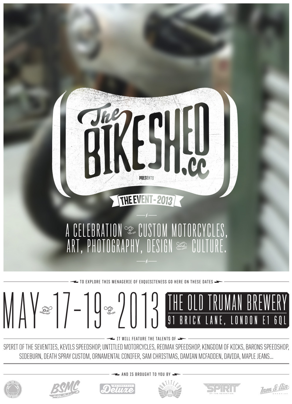 Sounds like we'll be on the road for some fun ! http://thebikeshed.cc/2013/03/18/bsmc-2013/
