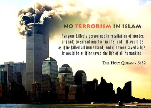 No Terrorism In Islam!