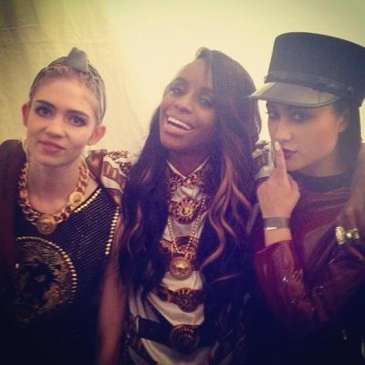 actuallygrimes:  angel haze is SO good live and natalia kills is a badass