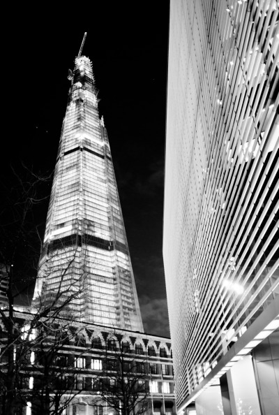 Kin Chan The Shard at night, London 2012 Kin Chan's Facebook Page