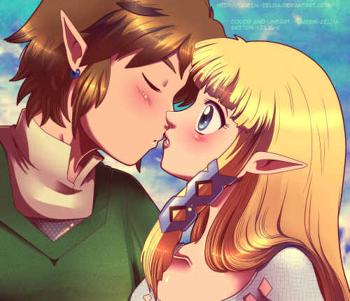 Can i kiss you? by ~Queen-Zelda