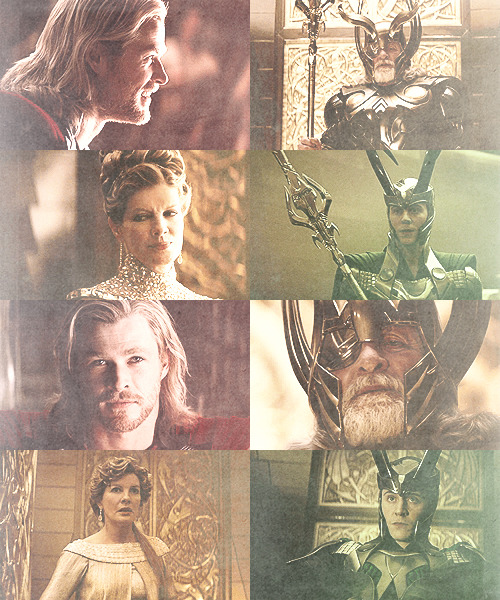 Odin's family + gold, red & green - requested by insouuciant