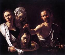 Caravaggio (1571-1610), Salome with the head of John the Baptist, 1610, National Gallery, London.