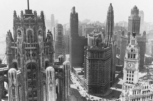 archimaps:  The towers of Chicago in the 1930's
