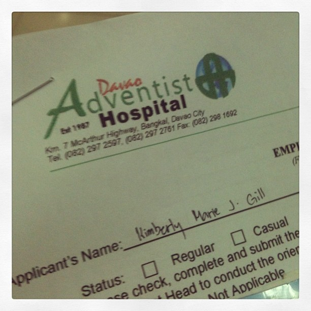 Working…💊🏥 #pharmacist #work #davaoadventist #hospital #instapic #instaphoto #instapost #instadaily #instagood #instagram #igdaily #tweegram #webstagram  (at Davao Adventist Hospital)