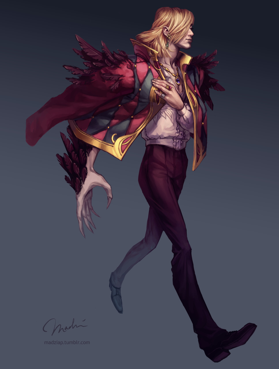 madziap:  Finished Howl; from Howl's Moving Castle by Ghibli