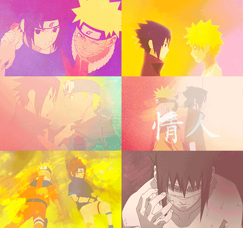 ❝  Naruto and Sasuke progress as a pair. So when I write about Naruto, I always have to think about Sasuke. They are on opposite sides of the spectrum, like yin and yang.❞ —Masashi Kishimoto