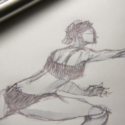 Late night life drawing sketches.