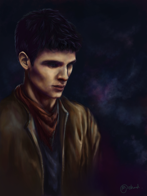 Merlin - Lights (x)    Eeeheee I finally finished! First piece of work on my Cintiq 21UX tablet, most graciously sold to me by fayestardust. This is for her! (and also because I love Merlin so much and I can't believe it's ending oh god).