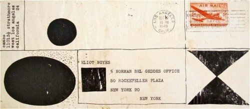 tearingthepages:  Eames letter to Norman Bel Geddes