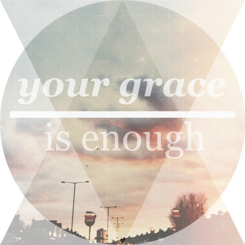 It definitely is. :) If grace was an ocean, we'd all be sinking :)