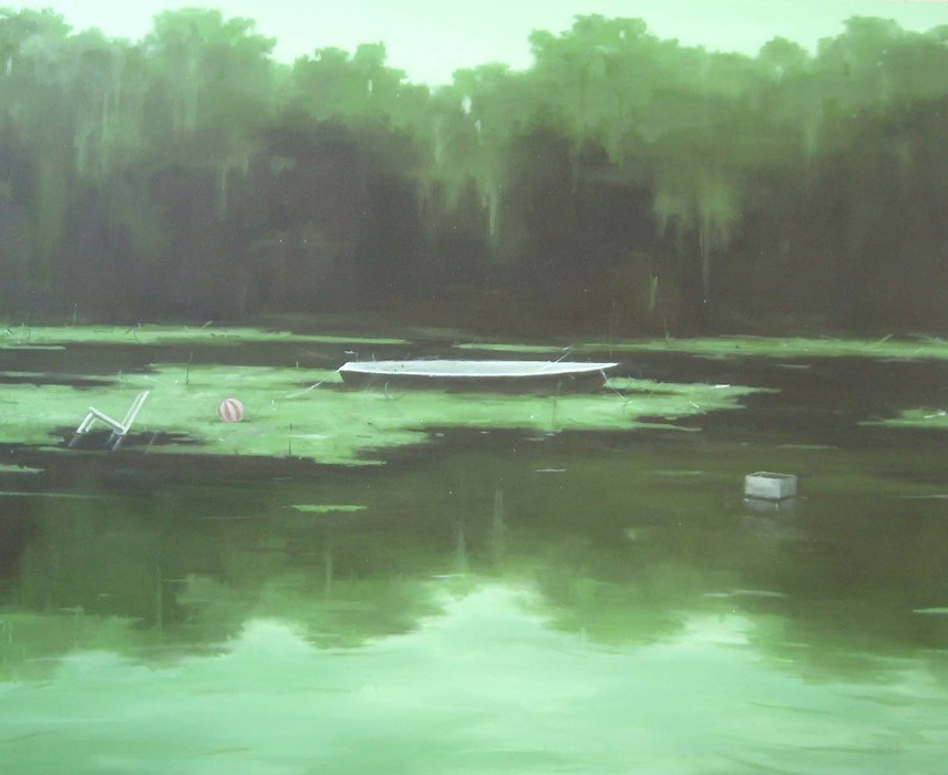 onepainting:  Cai LongfeiUntitled 2011  Oil on Canvas 130 x 160cm