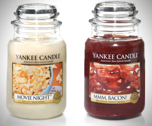brain-food:  Yankee Candle put out two new Man Candles.