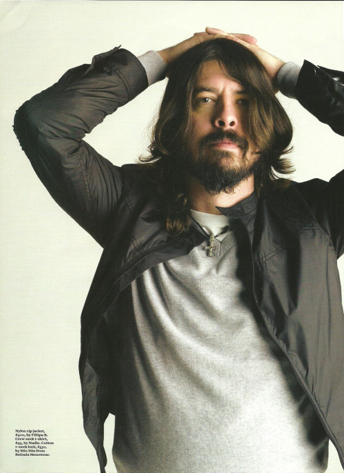 Kind of over Dave Grohl Sound City interviews by now, but this British GQ Q&A is a cut above: Dave Grohl on Barry Manilow, Metallica and reuniting with Nirvana(Photo from Australian GQ)