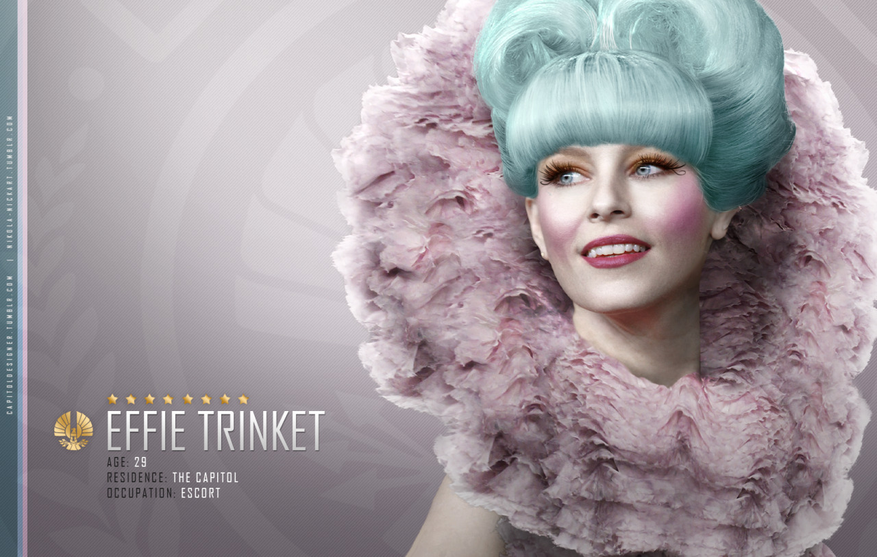 Effie Trinket - Catching Fire [X]