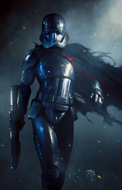 star wars star wars art dark side gwendoline christie TFA Star Wars Fan Art The Force Awakens Star Wars: The Force Awakens star wars the force awakens Phasma captain phasma