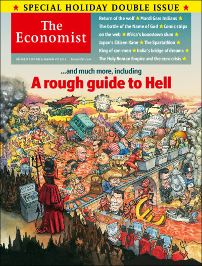 The Economist's Christmas issue offers our journalists an annual chance to pen #longreads on a topic of their choosing. Leading this year's crop: a rough guide to hell.